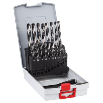 Bosch metaalboor 19d set HSS PoinTeQ