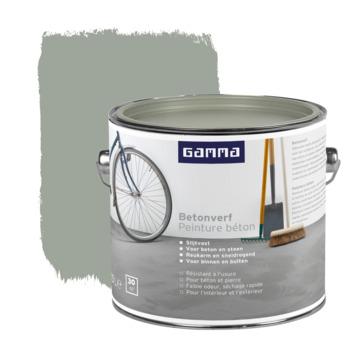 GAMMA betonverf zijdemat grijs 2,5 liter