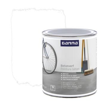GAMMA betonverf zijdemat wit 750 ml
