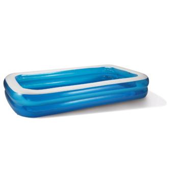 Zwembad rechthoekig blauw 305x183x56 cm