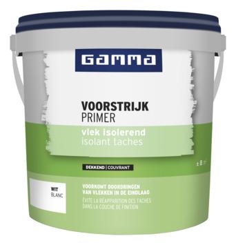 GAMMA voorstrijk vlekisolerend wit 1 liter