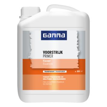 GAMMA voorstrijk fixeer transparant 2,5 liter