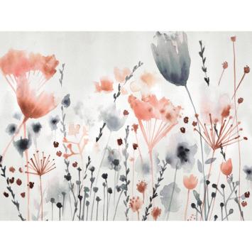 Fotobehang Watercoloured meadow (89506)