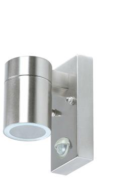 GAMMA buitenlamp Edmonton 1-lichts met bewegingsmelder RVS