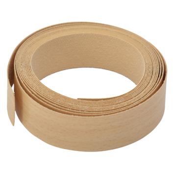 Rechtkant strijkband beuken 23 mm 2,5 meter
