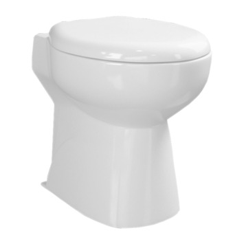 Van Marcke staand toilet met vermaler
