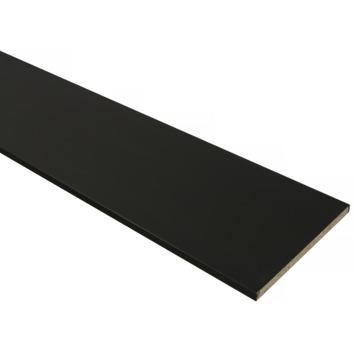 Meubelpaneel zwart 240x40 cm 18 mm