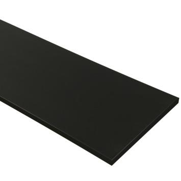 Meubelpaneel zwart 120x30 cm 18 mm