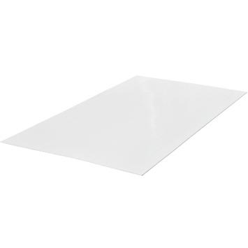 Hardboard wandplaat met tegelmotief wit 3,2 mm 244x122 cm