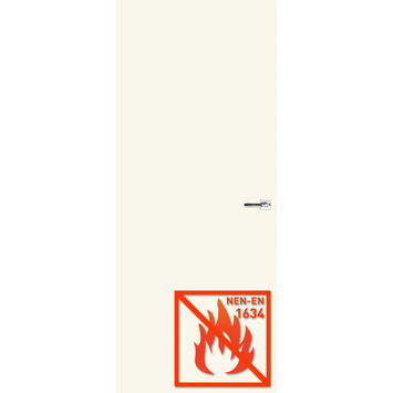 Boarddeur 60 minuten brandvertragend gegrondverfd stomp 83x201,5 cm