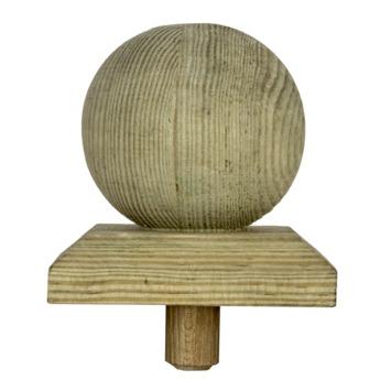 Paalbol 7,6x7,6x9,5 cm