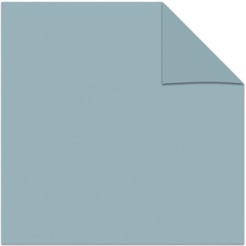 Kleurstaal rolgordijn verduisterend licht blauw 5801