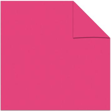 Kleurstaal rolgordijn verduisterend roze 5773