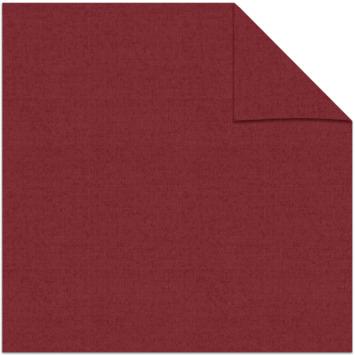 Kleurstaal rolgordijn lichtdoorlatend rood 5746