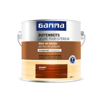 GAMMA buitenbeits deur & kozijn transparant mahonie 2,5 liter
