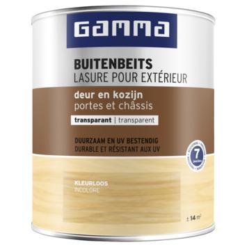 GAMMA buitenbeits deur & kozijn transparant kleurloos 750 ml