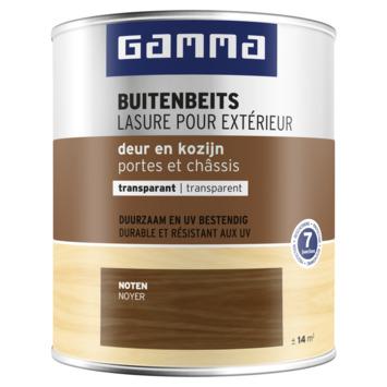 GAMMA buitenbeits deur & kozijn transparant noten 750 ml