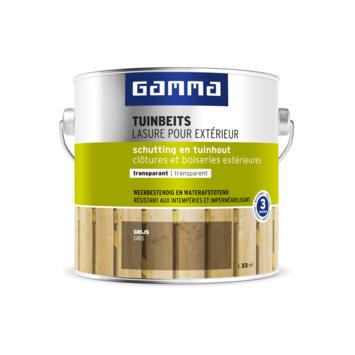 GAMMA tuinbeits schutting & tuinhout transparant grijs 2,5 liter