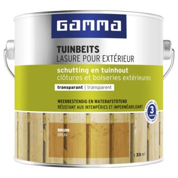 GAMMA tuinbeits schutting & tuinhout transparant bruin 2,5 liter