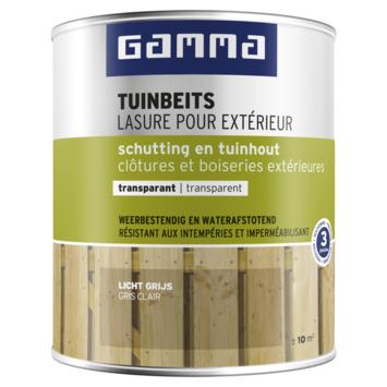GAMMA tuinbeits schutting & tuinhout transparant 750 ml licht grijs