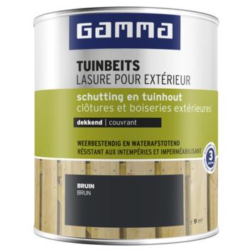 GAMMA tuinbeits schutting & tuinhout dekkend bruin 750 ml
