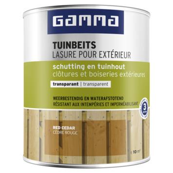 GAMMA tuinbeits schutting & tuinhout transparant 750 ml red cedar