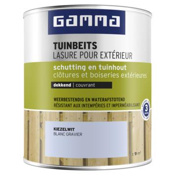 GAMMA tuinbeits schutting & tuinhout dekkend kiezelwit 750 ml