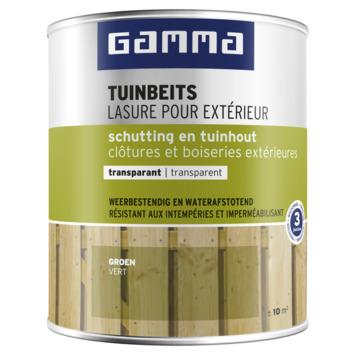 GAMMA tuinbeits schutting & tuinhout transparant 750 ml groen