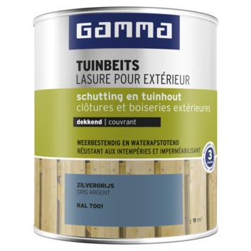 GAMMA tuinbeits schutting & tuinhout dekkend RAL 7001 zilvergrijs 750 ml