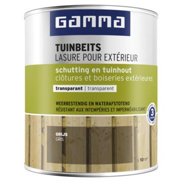 GAMMA tuinbeits schutting & tuinhout transparant 750 ml grijs