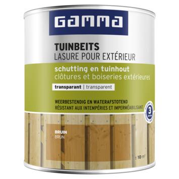 GAMMA tuinbeits schutting & tuinhout transparant 750 ml bruin