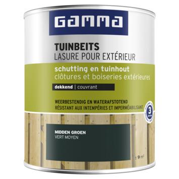 GAMMA tuinbeits schutting & tuinhout dekkend middengroen 750 ml