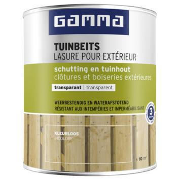 GAMMA tuinbeits schutting & tuinhout transparant 750 ml kleurloos