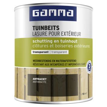 GAMMA tuinbeits schutting & tuinhout transparant 750 ml antraciet