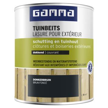 GAMMA tuinbeits schutting & tuinhout dekkend donkerbruin 750 ml