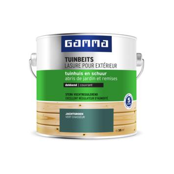 GAMMA tuinbeits tuinhuis & schuur dekkend jachtgroen 2,5 liter