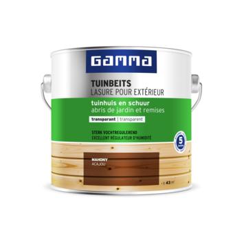 GAMMA tuinbeits tuinhuis & schuur transparant 2,5 liter mahonie