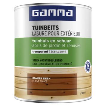 GAMMA tuinbeits tuinhuis & schuur transparant 750 ml donker eiken