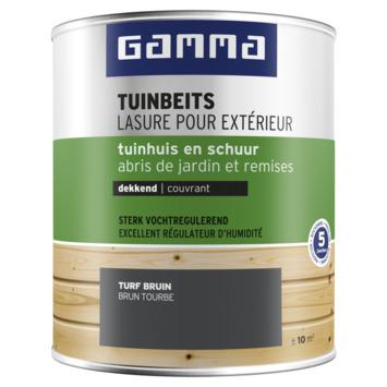 GAMMA tuinbeits tuinhuis & schuur dekkend turfbruin 750 ml