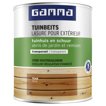 GAMMA tuinbeits tuinhuis & schuur transparant teak 750 ml