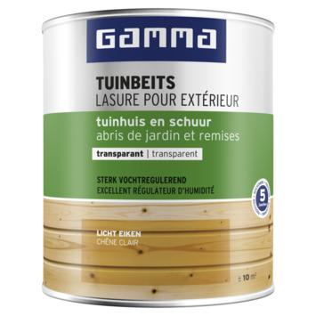 GAMMA tuinbeits tuinhuis & schuur transparant 750 ml licht eiken