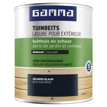GAMMA tuinbeits tuinhuis & schuur dekkend gelders blauw 750 ml