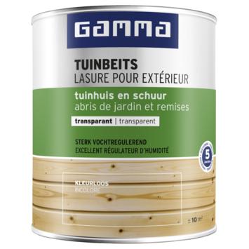 GAMMA tuinbeits tuinhuis & schuur transparant kleurloos 750 ml