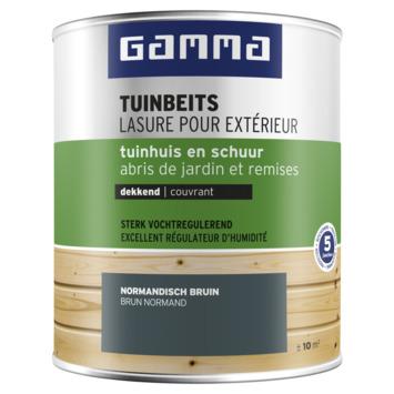GAMMA tuinbeits tuinhuis & schuur dekkend normandisch bruin 750 ml