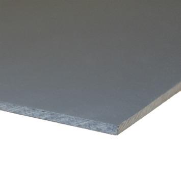 Compactplaat antraciet 6 mm 244x20 cm