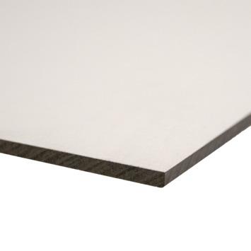 Compactplaat wit 6 mm 244x20 cm