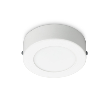 Prolight plafondlamp Villo rond 12 cm 6 w