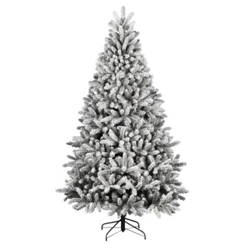Kunstkerstboom Flock Deluxe met sneeuw 180 cm