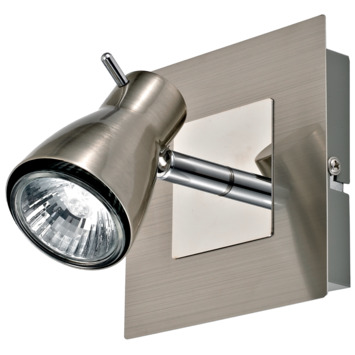 GAMMA Vicenza spot GU10 max. 35W excl. lamp aluminium