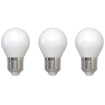 Handson LED kogellamp dimbaar E27 4W 470LM 3-pack